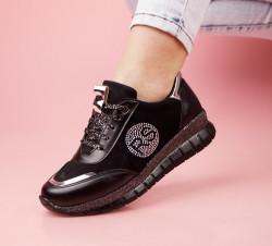 Pantofi sport negri cod:LV23