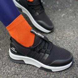 Pantofi sport negru/alb cod:SNN08