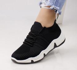 Pantofi dama negri COD:MM67