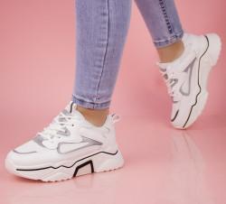 Pantofi sport albi cod:AB5695A