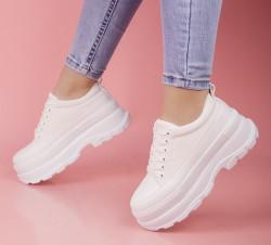 Pantofi sport albi cod:MM06