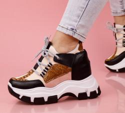 Pantofi sport negri cod:K83
