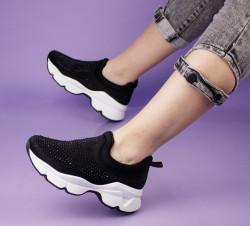 Pantofi sport negri cod:LL1779