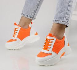 Pantofi sport portocaliu cod:XN20P