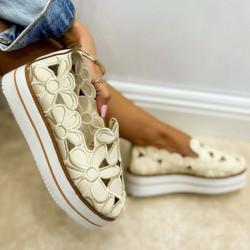 Pantofi dama albi cod:FL14