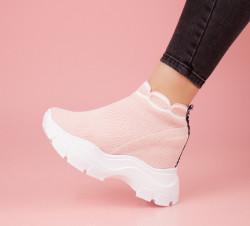 Pantofi dama roz COD:K18R