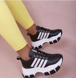 Pantofi sport negri cod:5385N
