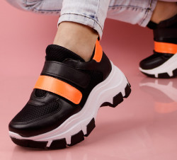 Pantofi sport negri cod:K80