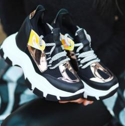 Pantofi sport negri cod:K85