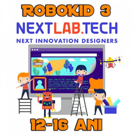 Plan educațional ROBOKID 3 mediu-avansați cu robot ENSPIRO inclus