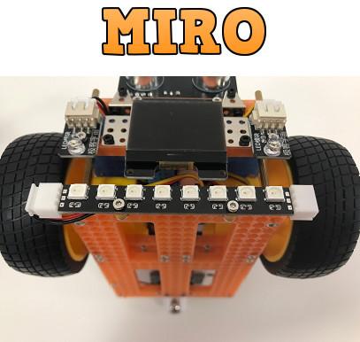 Robot MIRO începători(fără plan educațional)