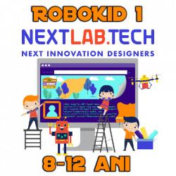 Plan educațional ROBOKID 1 începatori cu robot MIRO inclus