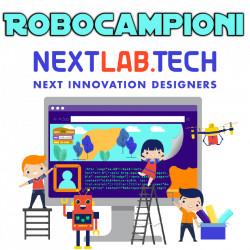 Set ROBOCAMPIONI cu tehnologie nextlab.tech