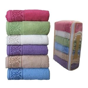 Set 6 Prosop Bumbac 50/100, diferite culori