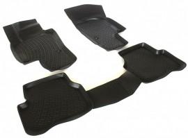 Covoare / Covorase / Presuri cauciuc tip stil tavita Volkswagen VW PASSAT B7 fabricatie 2010-2014