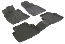 Covoare / Covorase / Presuri cauciuc tip stil tavita Nissan X-Trail II 2 fabricatie 2007-2013
