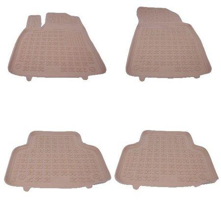 Covoare / Covorase / Presuri cauciuc tip stil tavita BEJ AUDI Q7 2 fabricatie 2015+