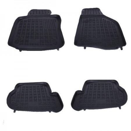 Covoare / Covorase / Presuri cauciuc tip stil tavita SEAT Leon 2 II fabricatie 2005-2013