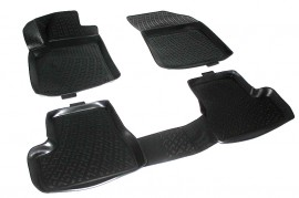 Covoare / Covorase / Presuri cauciuc tip stil tavita Citroen C3 MK 2 II fabricatie 2009-2016