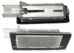 Lampa LED numar compatibila Renault Scenic 2 II 2003-2009