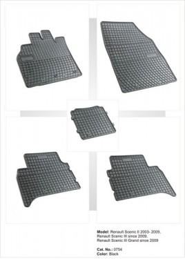 Covorase / Covoare / Presuri cauciuc RENAULT GRAND SCENIC III 3 fabricatie 2009-2016