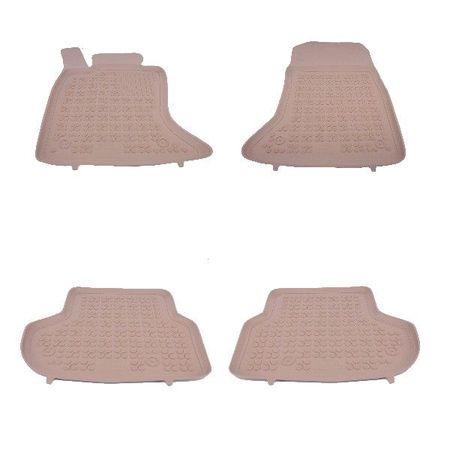 Covoare / Covorase / Presuri cauciuc tip stil tavita BEJ BMW Seria 5 F10 F11 Facelift fabricatie 2013-2017