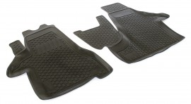 Covoare / Covorase / Presuri cauciuc tip stil tavita Volkswagen VW T5 /T6 fabricatie de la 2003-> partea fata