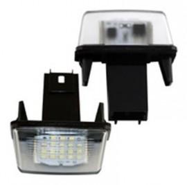Lampa LED numar compatibila PEUGEOT 407