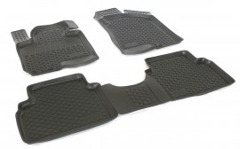 Covoare / Covorase / Presuri cauciuc tip stil tavita Hyundai ix35 fabricatie 2009-2015