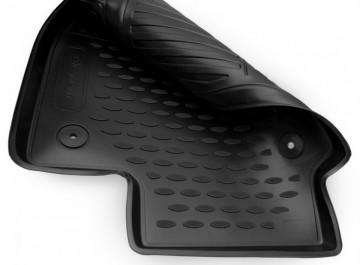 Covoare / Covorase / Presuri cauciuc tip stil tavita SKODA FABIA 2 II fabricatie 2007-2014