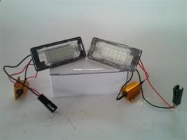 Lampa LED numar compatibila VW Sharan 2 II 2011~