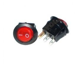 Buton 12V 2 faze cu LED
