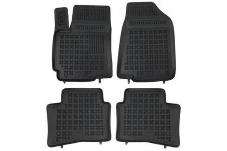 Covoare / Covorase / Presuri cauciuc tip stil tavita KIA Rio 3 III fabricatie 2011-2017