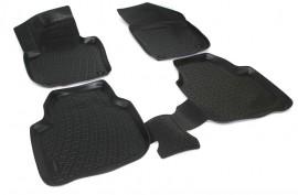 Covoare / Covorase / Presuri cauciuc tip stil tavita SKODA SUPERB 2 II fabricatie 2008-2015