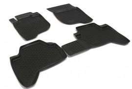 Covoare / Covorase / Presuri cauciuc tip stil tavita Mitsubishi L200 fabricatie 2007-2015