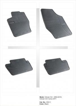 Covorase / Covoare / Presuri cauciuc CITROEN C4 I 1 fabricatie 2004-2010