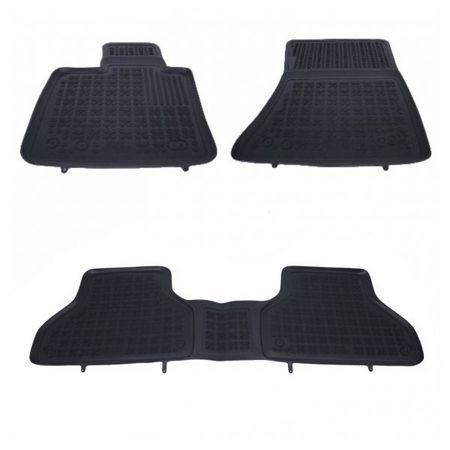 Covoare / Covorase / Presuri cauciuc tip stil tavita BMW X6 E71 fabricatie 2008-2014