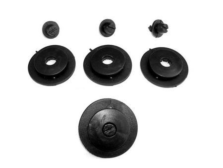 Covoare / Covorase / Presuri cauciuc tip stil tavita HYUNDAI Santa Fe 2 II fabricatie 2007-2012