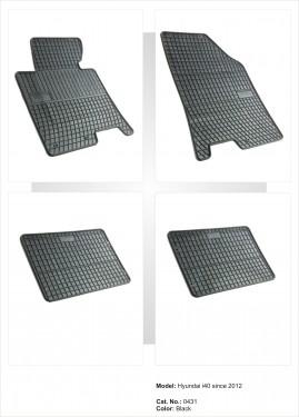 Covorase / Covoare / Presuri cauciuc HYUNDAI i40 fabricatie de la 2012->