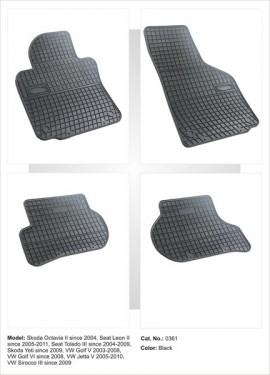 Covorase / Covoare / Presuri cauciuc SEAT LEON 2 II fabricatie 2005-2012