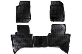 Covoare / Covorase / Presuri cauciuc tip stil tavita ISUZU D-Max 2 II fabricatie 2011+
