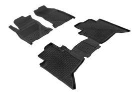 Covoare / Covorase / Presuri cauciuc tip stil tavita TOYOTA Hilux 8 fabricatie de la 2015+