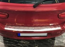 Ornament portbagaj crom BMW Seria 1 F20 2011-> / F21 2012->