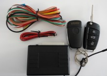 Telecomanda briceag pentru inchidere centralizata cu iesire pentru sirena TIP AUDI