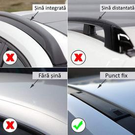 Bare portbagaj transversale dedicate MERCEDES Clasa E W212 fabricatie 2009-2016 Berlina Sedan