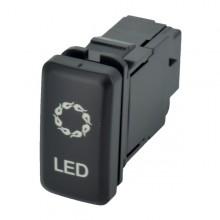 Buton electric LED
