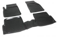 Covoare / Covorase / Presuri cauciuc tip stil tavita FORD FUSION fabricatie 2002-2013