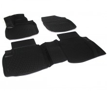 Covoare / Covorase / Presuri cauciuc tip stil tavita Honda Civic IX fabricatie de la 2012-> 5usi
