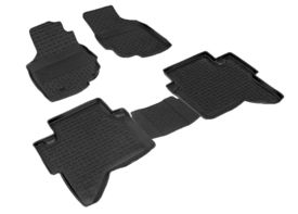 Covoare / Covorase / Presuri cauciuc tip stil tavita TOYOTA Hilux 7 fabricatie 2005-2015