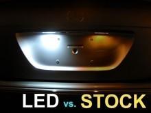 Lampa LED numar compatibila AUDI A3/S3 8P 2003-2012